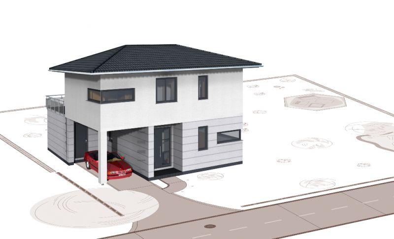 stadtvilla geno livingstar 19 haus grundriss. Black Bedroom Furniture Sets. Home Design Ideas